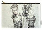 Vintage Ponytail Barbie Carry-all Pouch