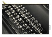 Vintage Portable Typewriter Carry-all Pouch