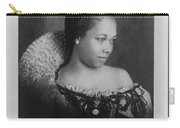 Vintage Portrait Photo Of Young Pretty Colored Lady Carry-all Pouch
