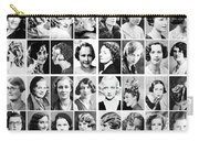Vintage Portrait Photos Depict Womens Hairstyles Of The 1930s  - Doc Braham - All Rights Reserved. Carry-all Pouch