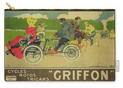 Vintage Poster Bicycle Advertisement Carry-all Pouch