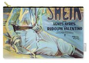 Vintage Poster - The Sheik Carry-all Pouch