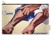 Vintage Poster - Together We Can Do It Carry-all Pouch