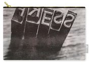 Vintage Press Industry Blocks Carry-all Pouch