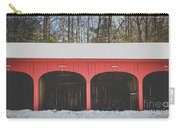 Vintage Red Carriage Barn Lyme Carry-all Pouch