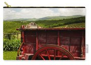 Vintage Red Wagon Carry-all Pouch