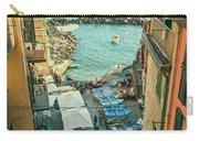 Vintage Riomaggiore Cinque Terre Italy Carry-all Pouch