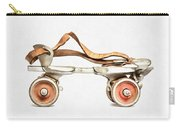 Vintage Roller Skate Painting Carry-all Pouch
