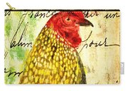 Vintage Rooster Portrait    Carry-all Pouch