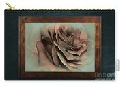 Vintage Rose On Old Wall 2 By Kaye Menner Carry-all Pouch