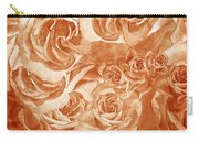 Vintage Rose Petals Abstract  Carry-all Pouch
