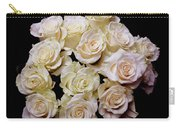 Vintage Roses Bouquet Carry-all Pouch
