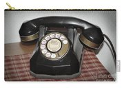 Vintage Rotary Phone Carry-all Pouch
