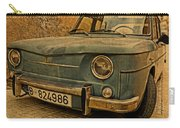 Vintage Rusty Renault Truck Carry-all Pouch