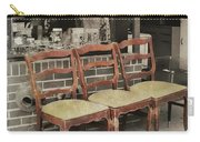 Vintage Seating Carry-all Pouch