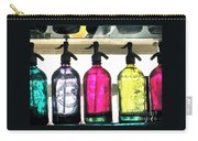 Vintage Seltzer Bottles 2 Carry-all Pouch