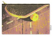 Vintage Skateboard Ruling The Road Carry-all Pouch