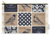 Vintage Songbirds Patch Carry-all Pouch