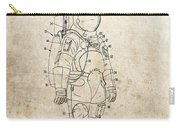 Vintage Space Suit Patent Carry-all Pouch