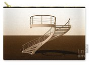Vintage Stair 48 Escalera Caracol Helicoidal Carry-all Pouch
