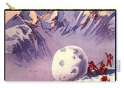 Vintage Swiss Travel Poster Carry-all Pouch