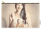 Vintage Tea Advertisement Pin-up Carry-all Pouch