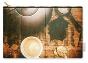 Vintage Tea Crate Cafe Art Carry-all Pouch