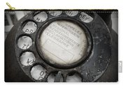 Vintage Telephone Carry-all Pouch