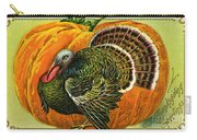 Vintage Thanksgiving Card Carry-all Pouch