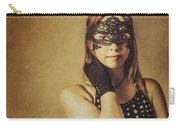 Vintage Theatre Show Girl  Carry-all Pouch