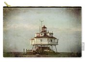 Vintage Thomas Point Shoal Lighthouse Carry-all Pouch