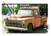Vintage Tow Truck Carry-all Pouch