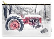 Vintage Tractor Christmas Carry-all Pouch