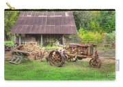 Vintage Tractor Carry-all Pouch
