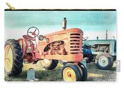 Vintage Tractors Acrylic Carry-all Pouch