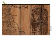 Vintage Travel London Carry-all Pouch