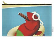 Vintage Travel Poster Italy Carry-all Pouch