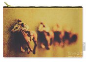 Vintage Trots Carry-all Pouch