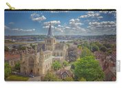 Vintage View Of The Cathedral Carry-all Pouch
