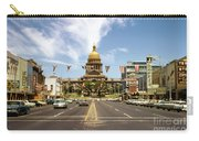 Vintage View Of The Texas State Capitol And Downtown Austin From September 1968 Carry-all Pouch