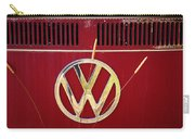 Vintage Vw Bus Logo Carry-all Pouch