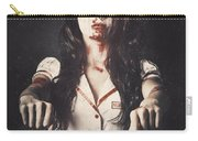 Vintage Walking Dead Horror Nurse Carry-all Pouch
