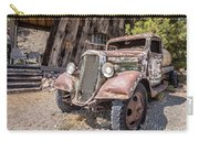 Vintage Water Truck In The Desert Carry-all Pouch