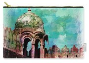 Vintage Watercolor Gazebo Ornate Palace Mehrangarh Fort India Rajasthan 2a Carry-all Pouch