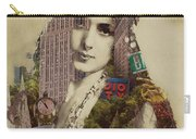 Vintage Woman Built By New York City 1 Carry-all Pouch