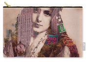 Vintage Woman Built By New York City 2 Carry-all Pouch