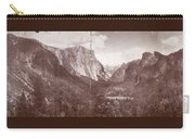 Vintage Yosemite Valley 1899 Carry-all Pouch