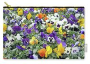 Viola In The Spring Are Especially Beautiful. Carry-all Pouch