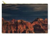 Violent Storm Over The North Rim Grand Canyon National Park Arizona Carry-all Pouch