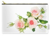 Garden Roses And Buds Carry-all Pouch